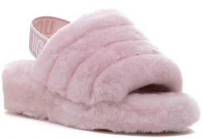 Seashell Pink Fluff Yeah Slippers