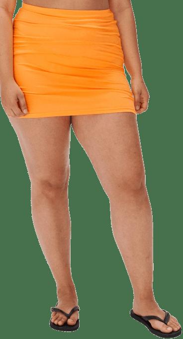 Tangerine Swim Skirt-Djerf Avenue