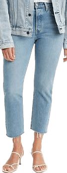 Tango Tunes 501 Original Stretch Cropped Jeans-Levi's