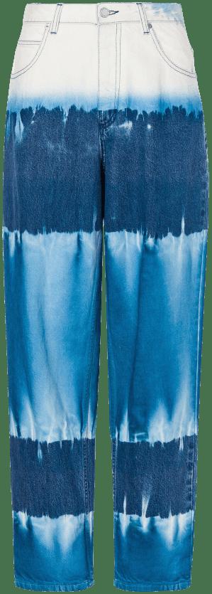 Tie Dye Pants-Alberta Ferretti