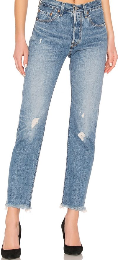 Truth Unfolds Distressed 501 Jeans