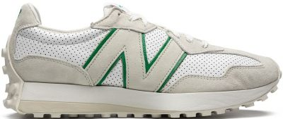 White 327 Low-Top Sneakers-New Balance