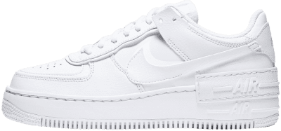 White Air Force 1 Shadow Shoes-Nike