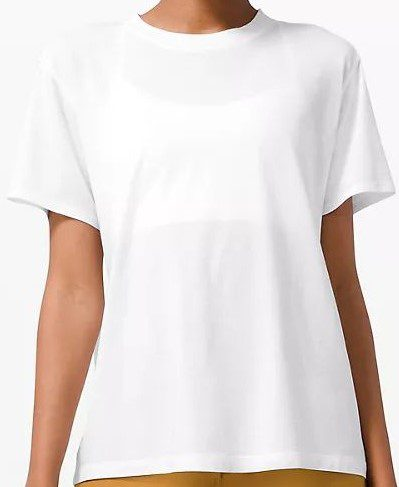 White All Yours Tee-Lululemon