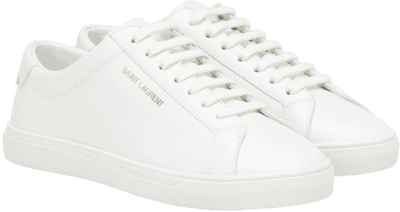 White Andy Leather Sneakers