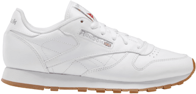 White Classic Leather Women's Shoes-Reebok