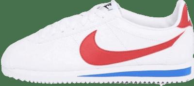 White Cortez Retro Leather Sneakers