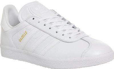 White Gazelle Training Shoes