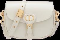 White Medium Bobby Bag