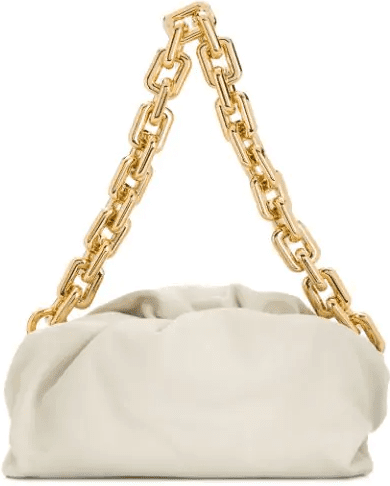 White The Chain Pouch Shoulder Bag