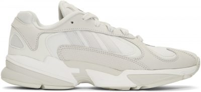 White Yung 1 Sneakers-Adidas