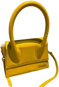 Yellow Le Grand Chiquito Leather Crossbody Bag-Jacquemus
