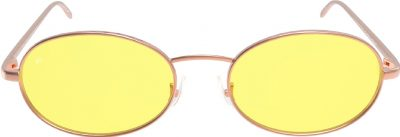 Yellow The Candy Round Sunglasses