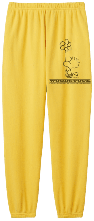 Yellow The Gym Pant-Peanuts X Marc Jacobs