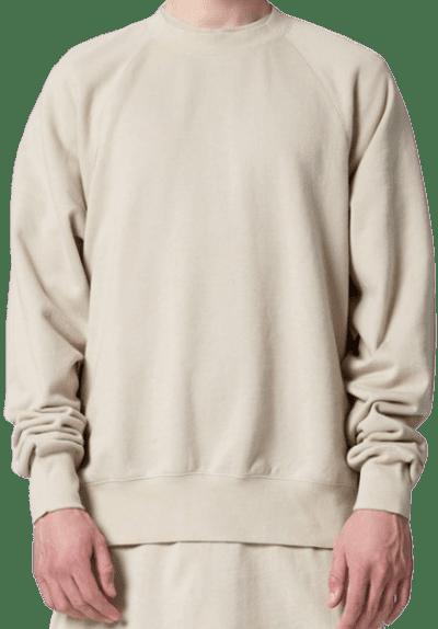 Beige Fog Crew Neck Sweatshirt-Fear Of God