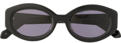Black Alternative Fit Bishop Sunglasses