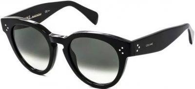 Black CL 41049 S Thin Preppy Sunglasses-Celine