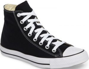 Black Chuck Taylor High Top Sneaker-Converse