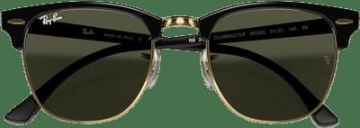 Black Clubmaster Classic Sunglasses-Ray-Ban