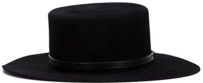 Black Cordobes Hat