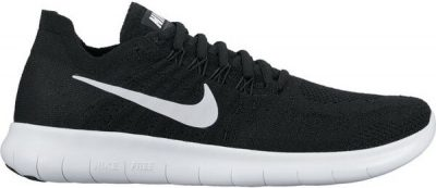 Black Free RN Flyknit 2017 Running Shoes-Nike