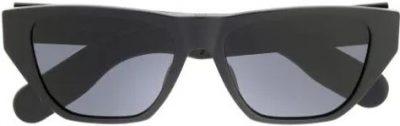Black Insideout2 Rectangular-Frame Sunglasses-Dior