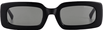 Black Marteeni Square Sunglasses