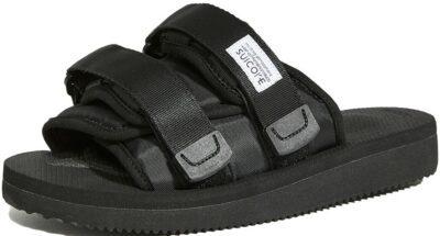 Black Moto-CAB Sandals-Suicoke