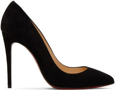 Black Suede Pigalle Heels-Christian Louboutin