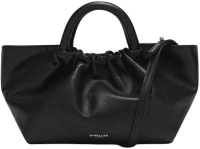 Black The Mini Los Angeles Handbag-DeMellier