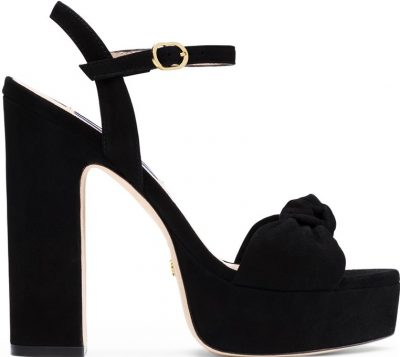 Black The Mirri 140 Sandal