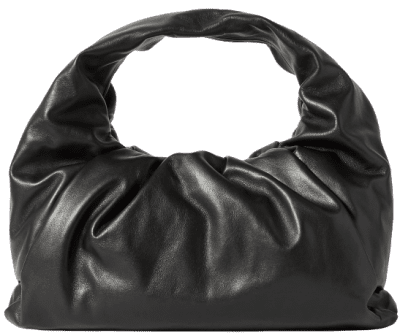 Black The Shoulder Pouch Leather Bag