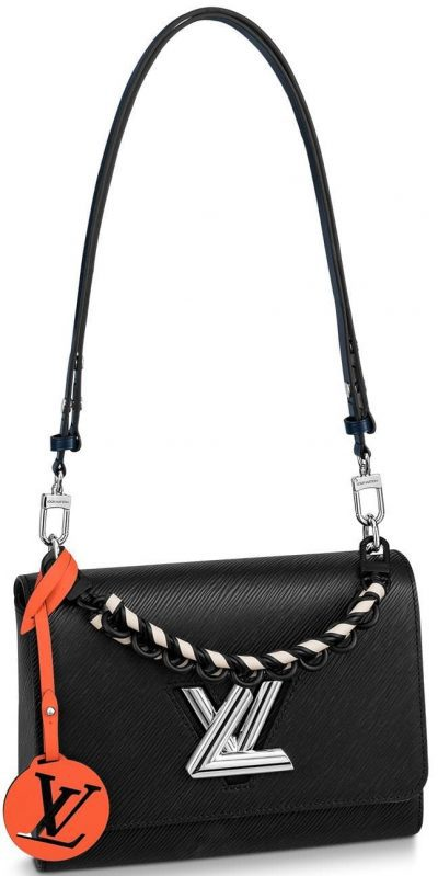 Black Twist MM Handbag-Louis Vuitton