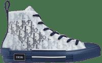 Blue Dior Oblique Canvas B23 High-Top Sneaker-Dior
