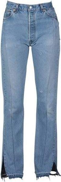 Blue Unraveled Jeans-EB Denim