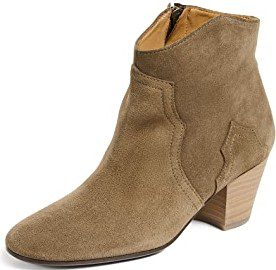 Brown Leather Dicker Boots