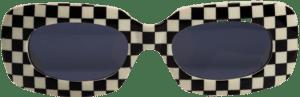 Checkered 416 SC1 Vintage Sunglasses-Versace