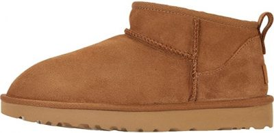 Chestnut Classic Ultra Mini Ankle Boot-UGG
