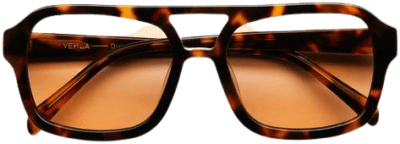Choc Tort Dixie Sunglasses-VEHLA