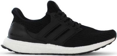 Core Black Ultraboost Running Shoes-Adidas