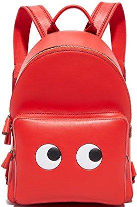 Geisha Capra Mini Eyes Backpack-Anya Hindmarch