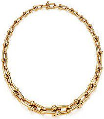 Gold Graduated Link Necklace-Tiffany & Co.