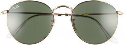 Gold Icons Retro Sunglasses