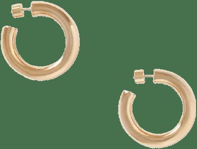 Gold Mini Jamma Hoop Earrings