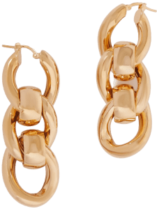 Gold-Tone Chain Earrings