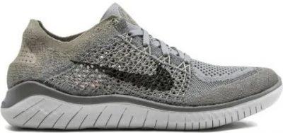 Grey Free RN Flyknit 2018 Sneakers-Nike