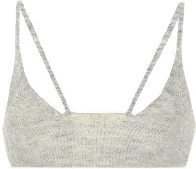 Grey Le Bandeau Valensole Knit Bralette-Jacquemus