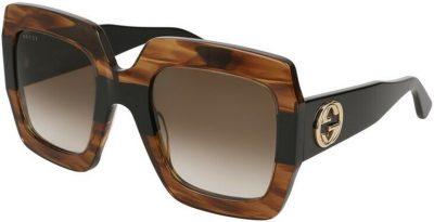 Havana Brown GG0178S Sunglasses-Gucci