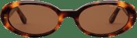 Havana Valentina Oval Sunglasses-DMY BY DMY