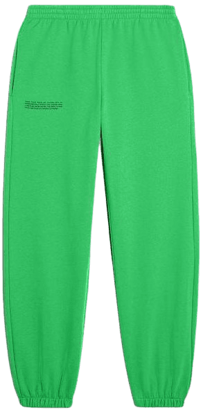 Jade Green Heavyweight Recycled Cotton Track Pants